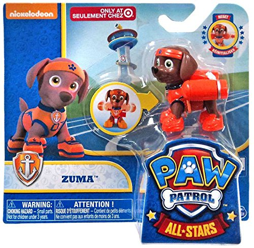 Paw Patrol All Stars Zuma Exclusive Figure