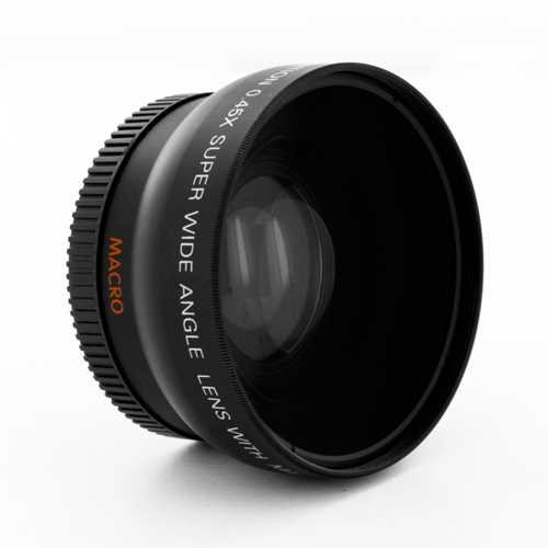 52mm High Definition 0.45x Wide Angle Lens