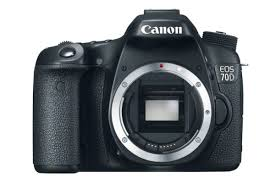 Canon EOS 70D 18.0 MP Digital SLR Camera with Dual Pixel CMOS AF  (Body Only)