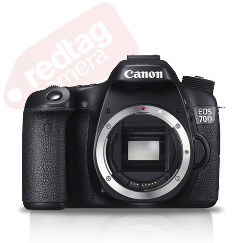 Canon EOS 70D 20.0 MP Digital SLR Camera with Dual Pixel CMOS AF  (Body Only)