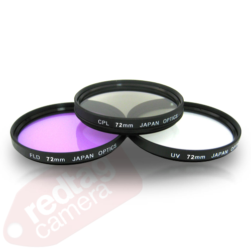 72mm Multi-Coated 3 Piece Filter Kit (UV-CPL-FLD)