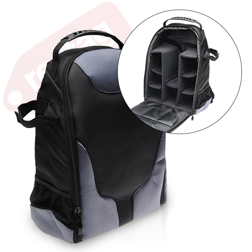 Large Deluxe Digital SLR Backpack