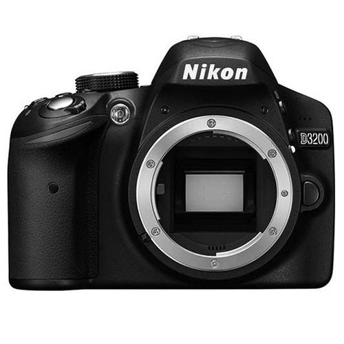 Nikon D3200 24.2 MP Digital SLR Camera - Black (Body Only)