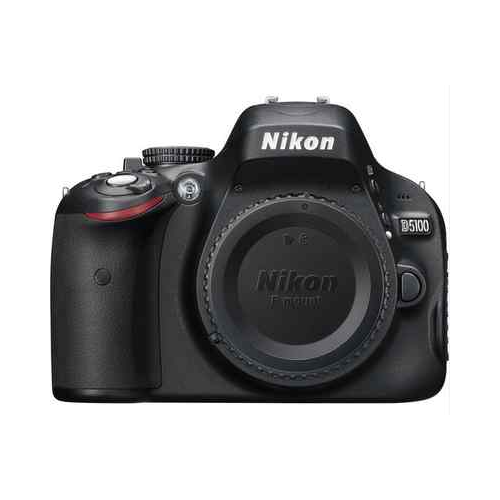 Nikon D5100 Digital SLR Camera Body Black 16.2 MP BRAND NEW