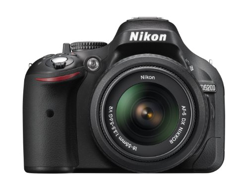 Nikon D5200 24.1 MP CMOS Digital SLR Camera Body Only (Black)