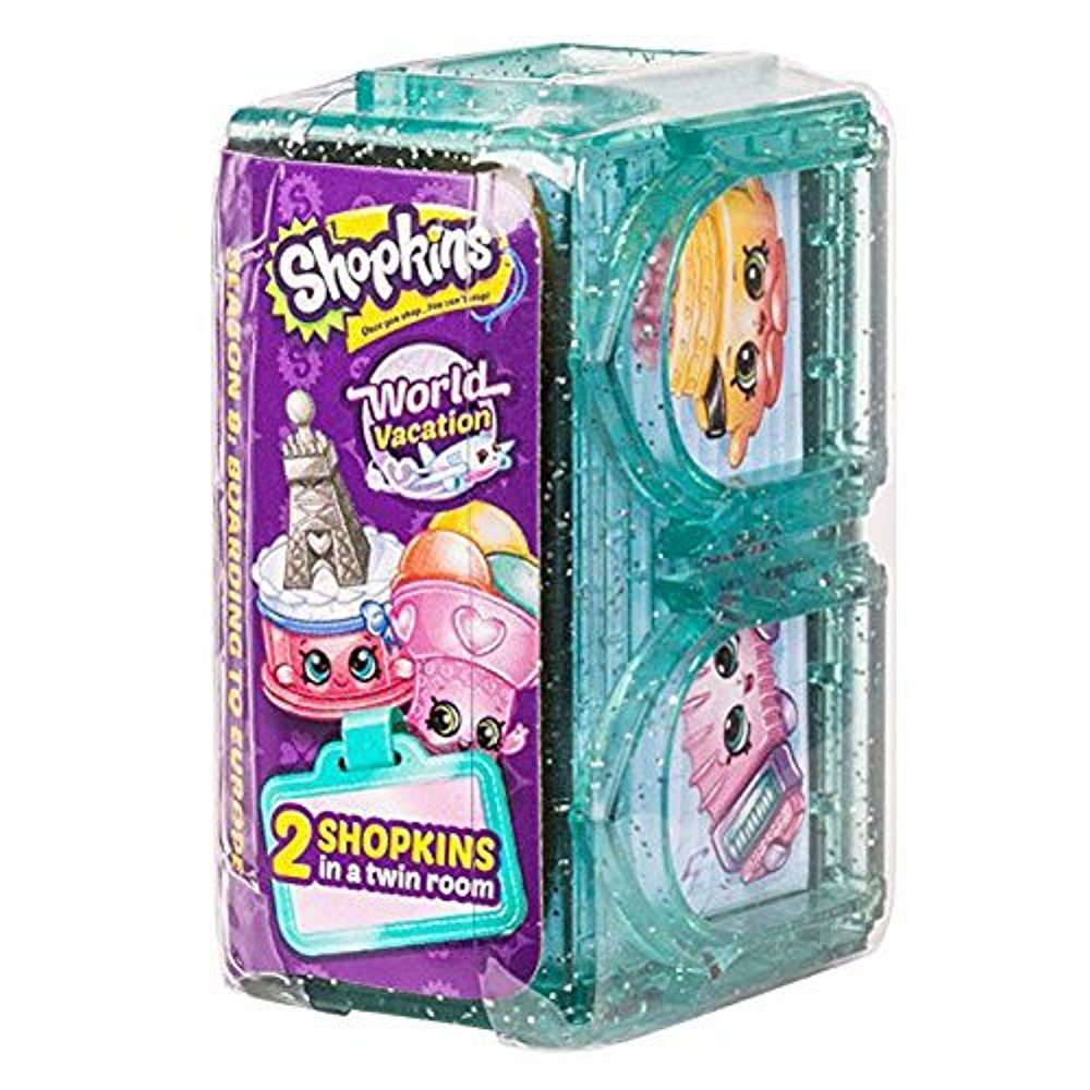 Shopkins Series 8 World Vacation Europe 2 Pack Blind Box
