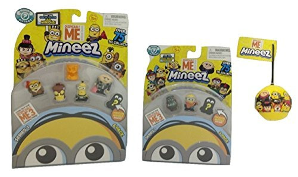 Despicable Me Mineez - 10 Figure Bundle