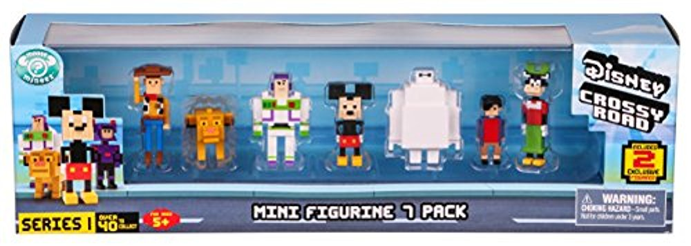Disney Crossy Road Mini Figures 7 Pk
