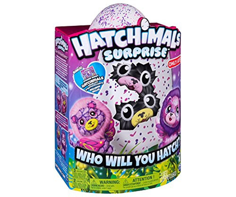 823654fdc8f4 Hatchimals Surprise Ligull Hatching Egg w Surprise Twin by Spin Master -  Styles and Colors Vary