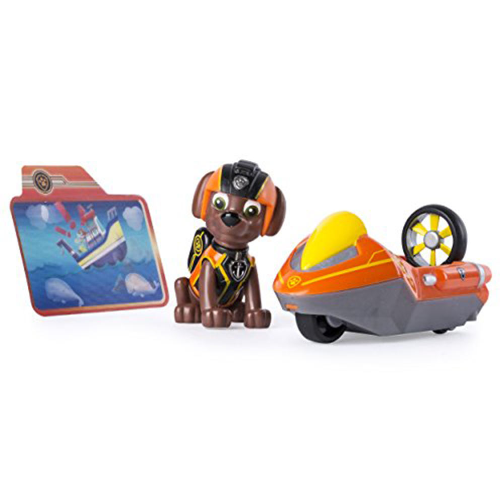 Paw Patrol Mission Paw - Zuma's Hydro Ski - Figure and Vehicle