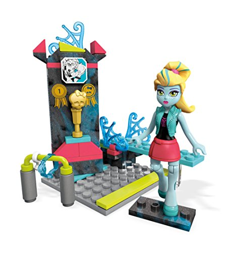 Mega Construx Monster High Aqua-Batic Diving Building Set with Lagoona Blue Figure