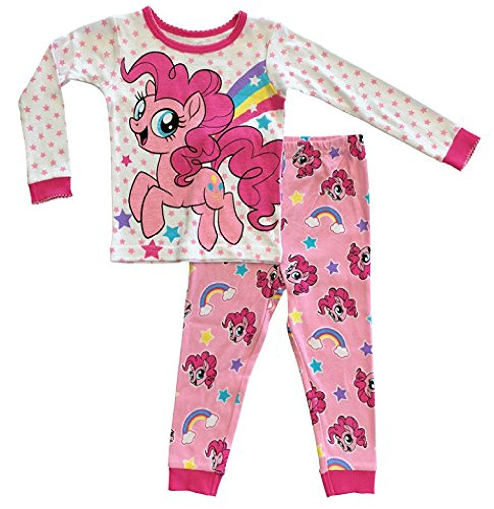 My Little Pony The Movie Toddler Girls Cotton Tight Fit Pajamas (4T)