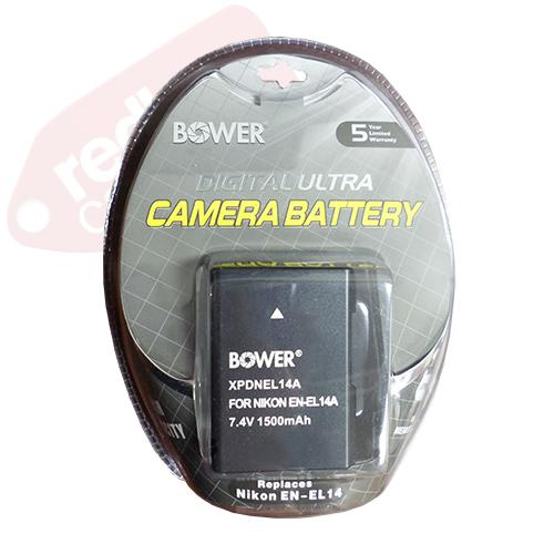 Bower XPDNEL14 Digital Camera Battery Replaces Nikon EN-EL14