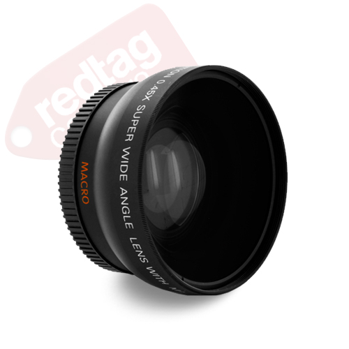 58mm High Definition 0.45x Wide Angle Lens