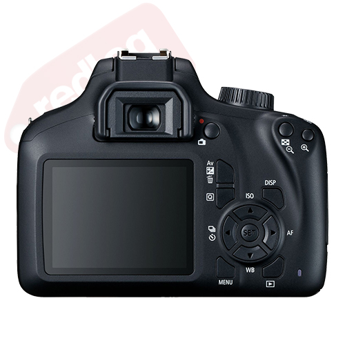 Canon EOS 4000D / T100 SLR Camera w/ 18-55mm+ 16GB 3 Lens Ultimate Accessory Kit