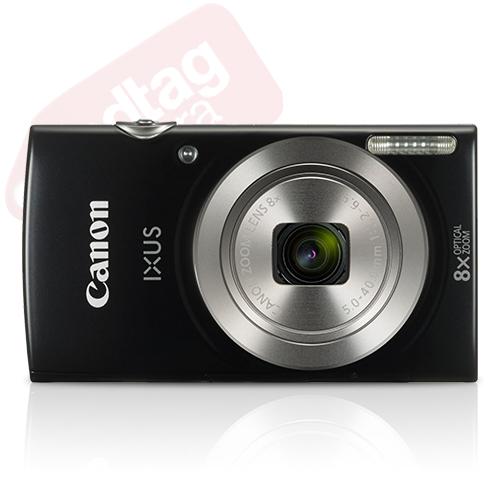 Canon IXUS 185 / ELPH 180 20.0MP Digital Camera 8x Optical Zoom Black