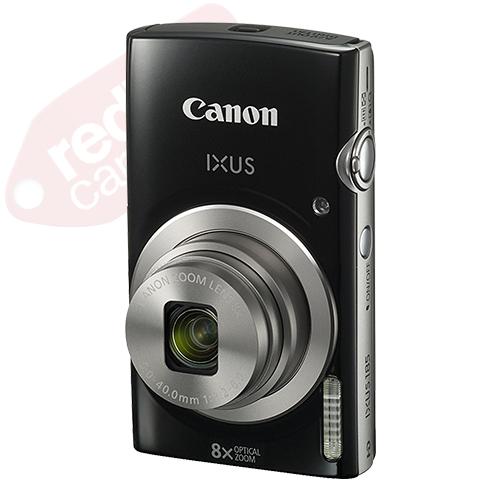 Canon IXUS 185 / ELPH 180 20.0MP Digital Camera 8x Optical Zoom Black + 16GB Kit