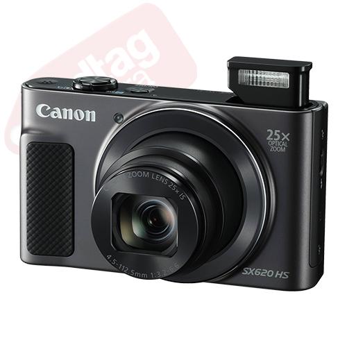 Canon PowerShot SX620 HS 20.2MP Digital Camera 25x Optical Zoom WiFi / NFC Black