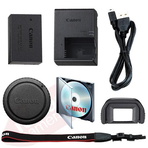 Canon EOS Rebel T6i Digital SLR Camera Body 24.2 MP Wi-Fi Brand New 8