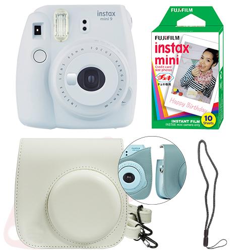 Fujifilm Instax mini 9-Instant cámara-Smoky blanco