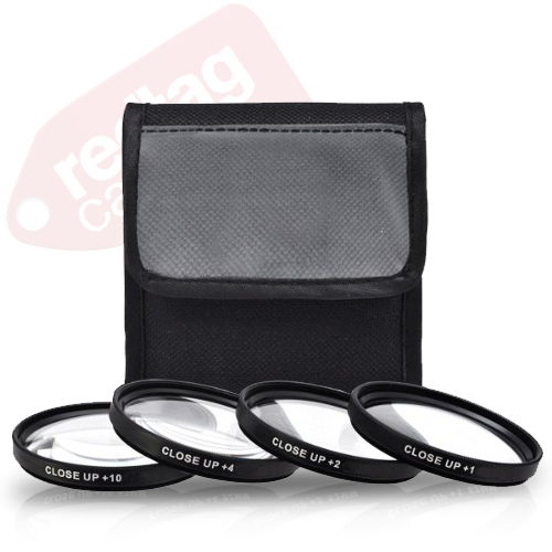 55mm 4 piece high definition Close-Up filter set