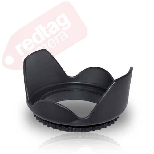 58mm Hard Tulip Shaped Lens Hood