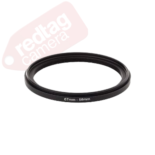 55-52mm Step-Down Adapter Ring