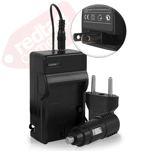 Battery Charger for Canon LP-E6 (Black)