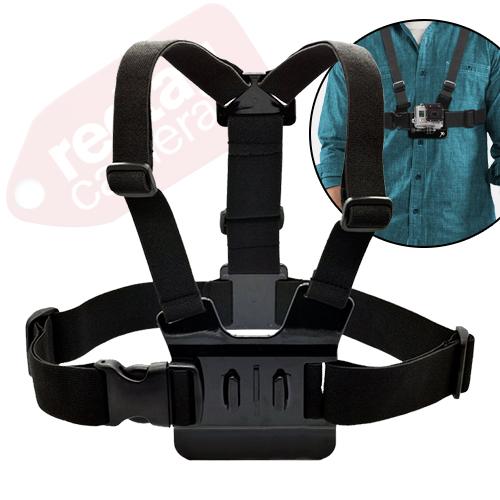 Chest Strap for GoPro / Action Camera  (Black)