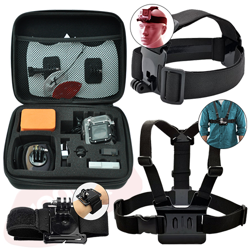 Action Camera Accessory Kit for GoPro Hero 8 7 6 5 4 3+ 3 2 1