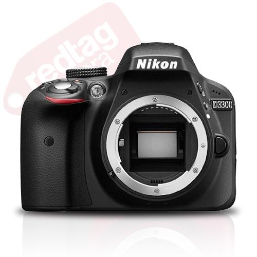 Nikon D3300 24.2 Mp DX-Format CMOS Digital SLR Camera Body (Black)