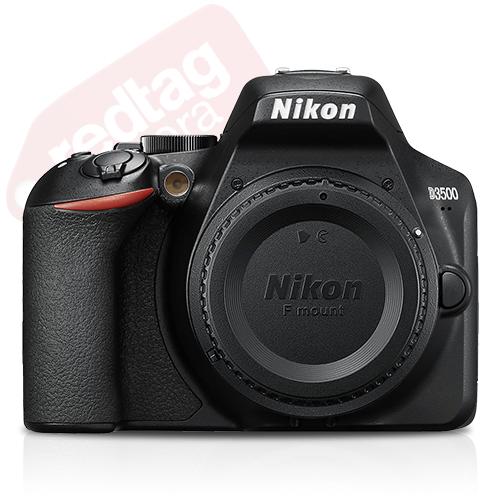 Nikon D3500 24.2 MP DX-Format CMOS Digital SLR Camera Body Black