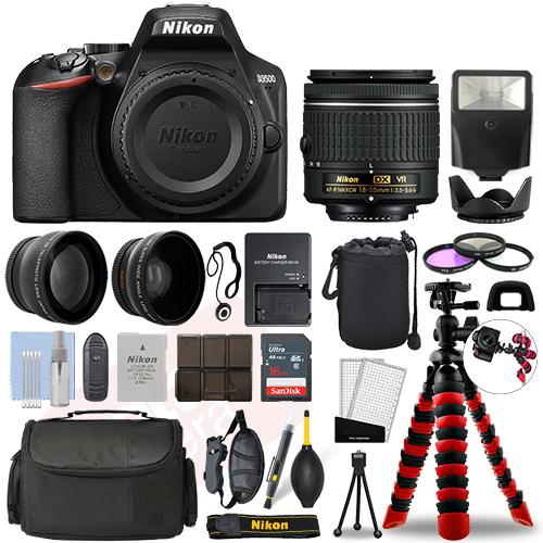 Super Saving Hi Def Accessory Pack for Nikon D3500 55mm Compatible